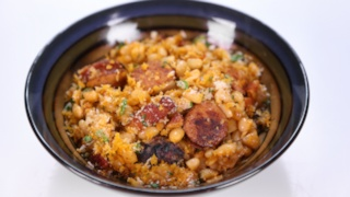 Michael Symon\'s Kielbasa and Beans