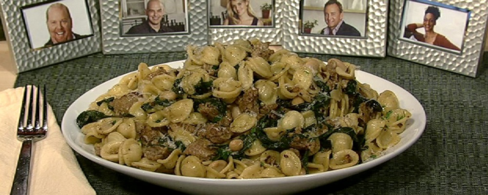 Orecchiette With Spicy Sausage And Ramps Recipes — Dishmaps