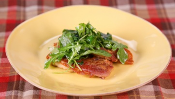 Michael Symon\'s Pork Saltimbocca