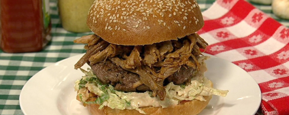 Michael Symon\'s Porky Burger