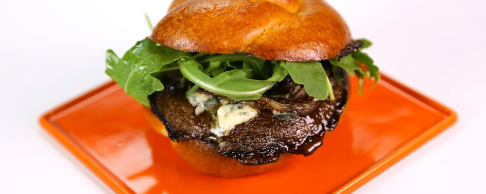 Michael Symon\'s Portobello Blue Cheese Sandwich