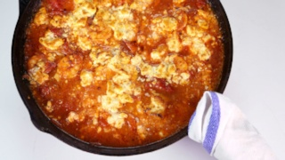 Michael Symon\'s Shrimp with Tomato and Feta