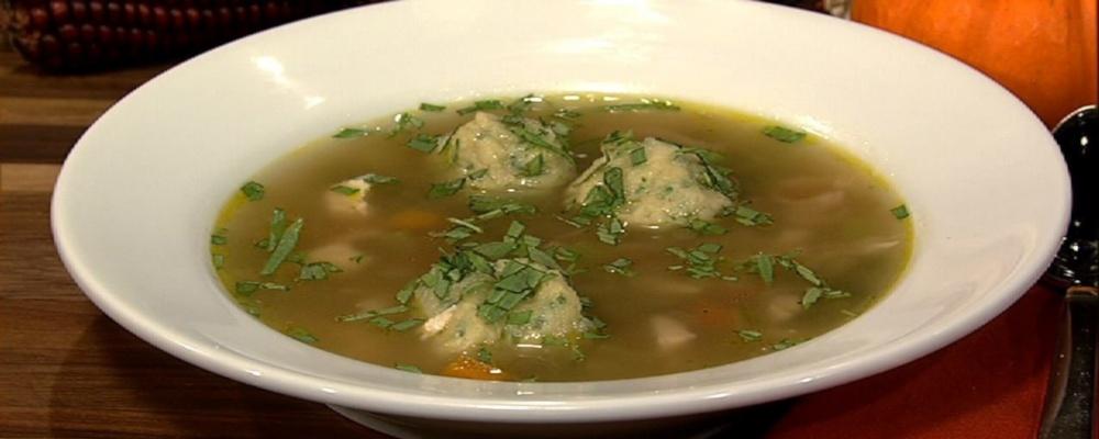 Michael Symon\'s Turkey Dumpling Soup