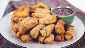 Myrna\'s Mini Filipino Egg Rolls