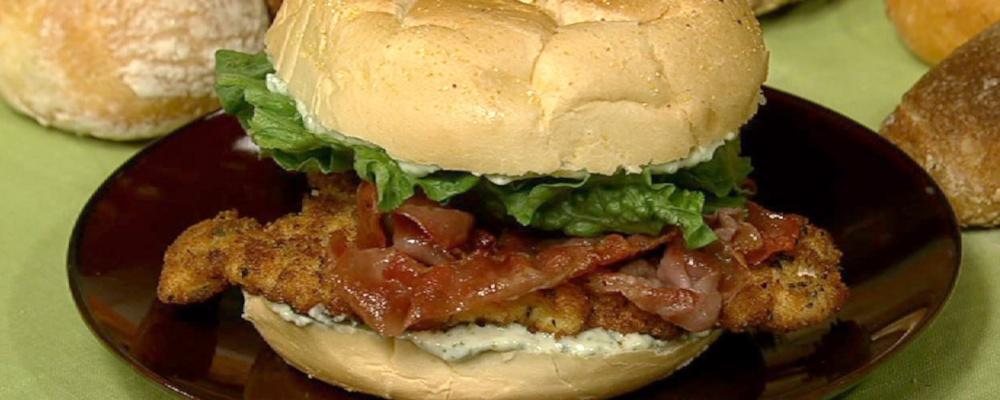 Nadia G.\'s Saltimbocca Chicken Cutlet Sandwich