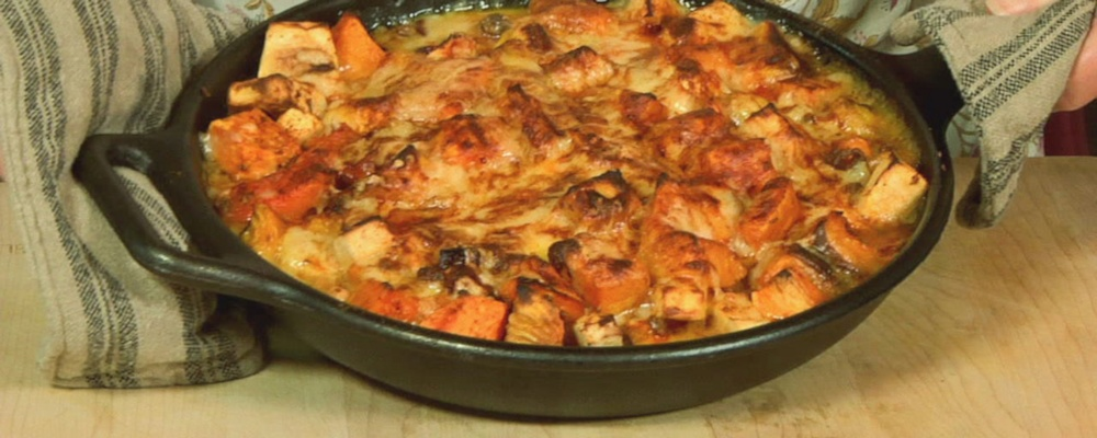 Nancy Fuller Ginsberg\'s Root Vegetable Bake