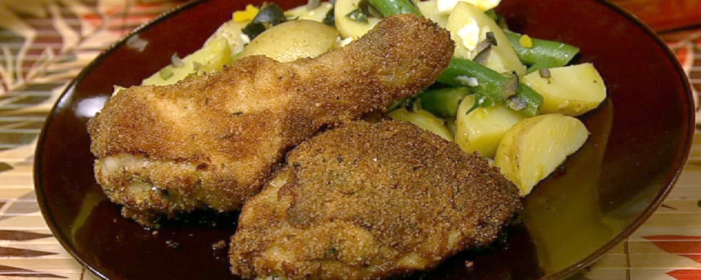 Not-Fried Chicken