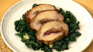 Ocean Spray\'s Roasted Pork Loin with Cranberries