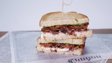 Oven-Roasted BLT with Tangy Mayo