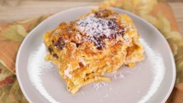 Pumpkin Lasagna with Béchamel Sauce