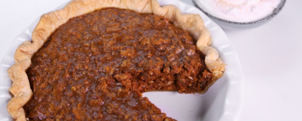 Pumpkin Pecan Pie Recipe by Carla Hall - The Chew