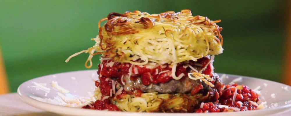 PYT\'s Spaghetti Burger