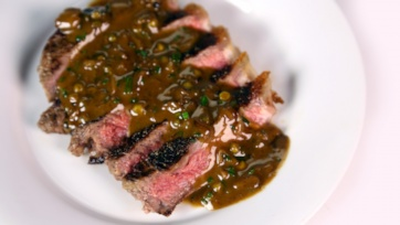 Quick Steak au Poivre