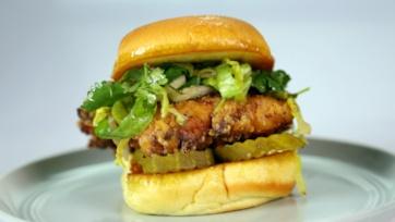Ranch Fried Chicken Sandwich