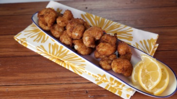 Ranch Popcorn Shrimp