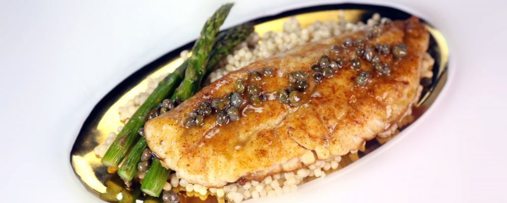 Red Snapper with Couscous