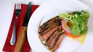 Rib Steak with Adobo Rub