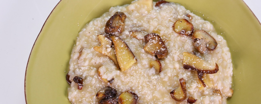 Risotto with Mushrooms and Vin Santo