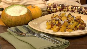 Roasted Pumpkin with Fontina Fonduta