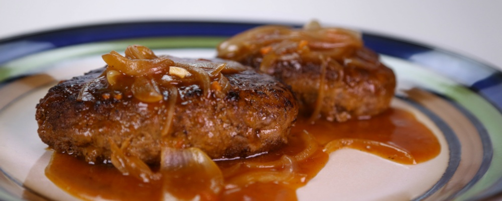 Salisbury Steak Recipe by Michael Symon - The Chew