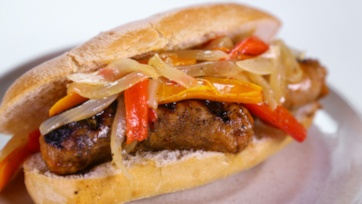Sausage and Pepper Sandwiches