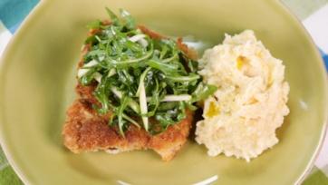 Smackdown Chicken Schnitzel
