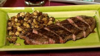Steak Oreganato