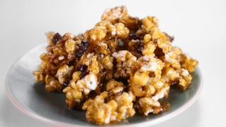 Sticky and Sweet Popcorn