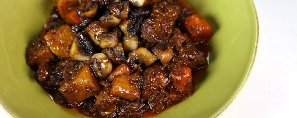 Stout & Beef Stew Recipe by Clinton Kelly - The Chew