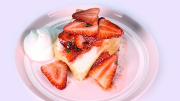 Strawberry & Thyme Shortcake
