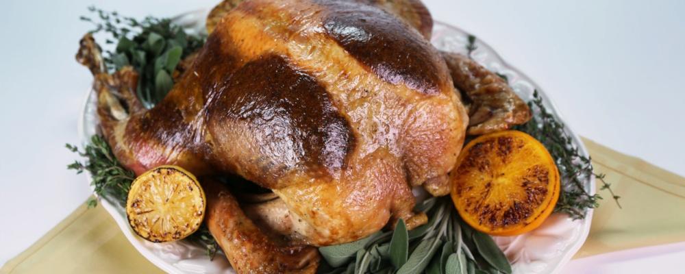 Super fast roast turkey recipe by tyler florence the chew Tyler florence recipes turkey