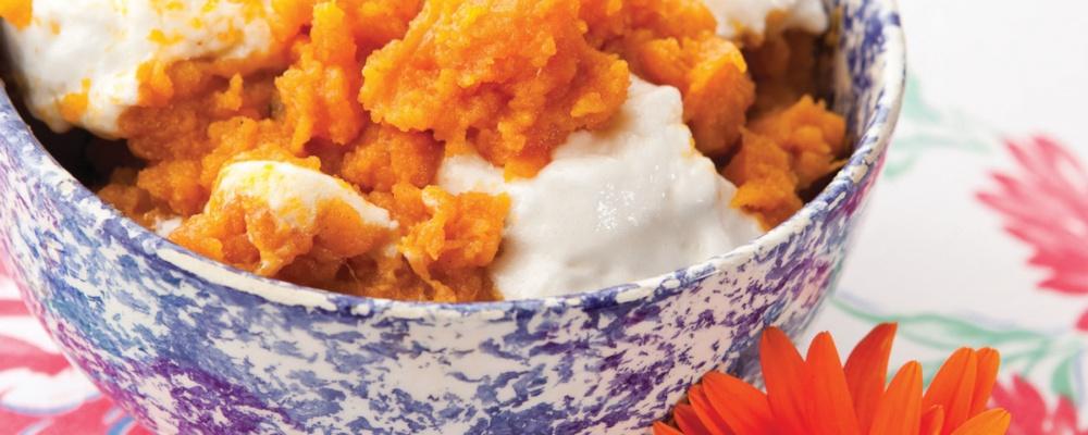 Sweet Potato Souffle Recipe by Mary Mac's Tea Room - The Chew
