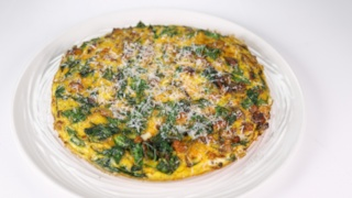 Swiss Chard and Sausage Frittata