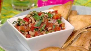 Texas Caviar & Pita Chips