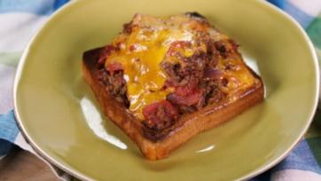 Texas Toast Chili Melt