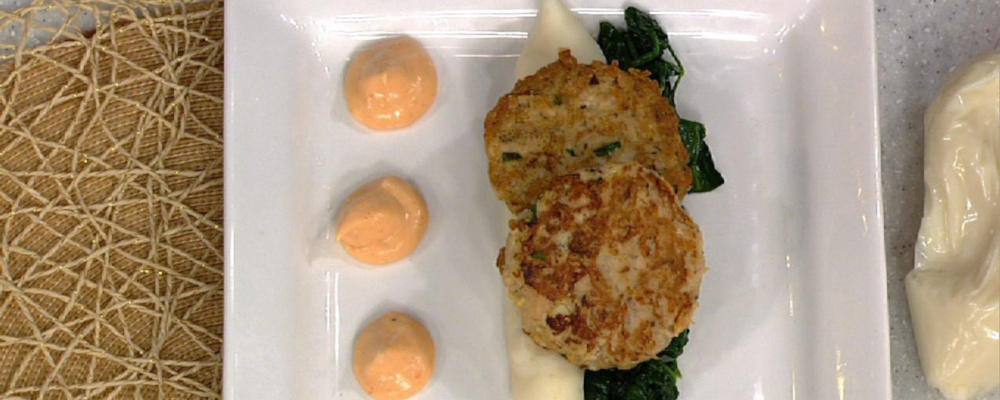Tiphani White\'s Easy Salmon Cakes