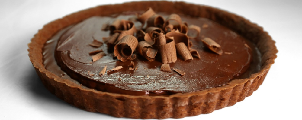 Triple Chocolate Tart by Carla Hall