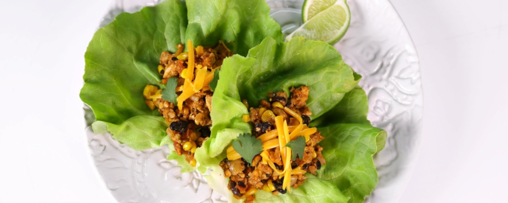 Turkey Taco Lettuce Wraps Recipe by Michelle Dudash - The Chew