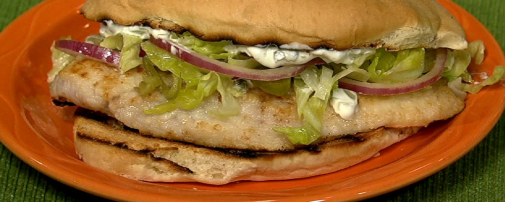 Turtle Bay Fish Sandwich