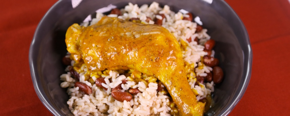 Utokia Langley\'s Braised Curry Chicken