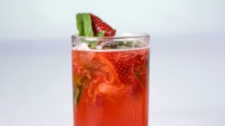 Very Berry Basil Mojito