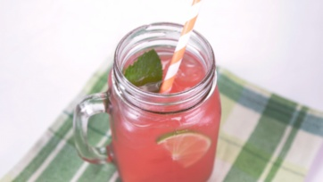 Watermelon Lime Agua Fresca