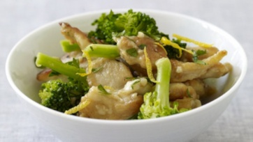 Weight Watchers Lemon Chicken with Broccoli