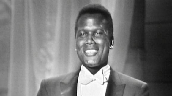 Sidney Poitier Wins Oscar for Best Actor in 1964