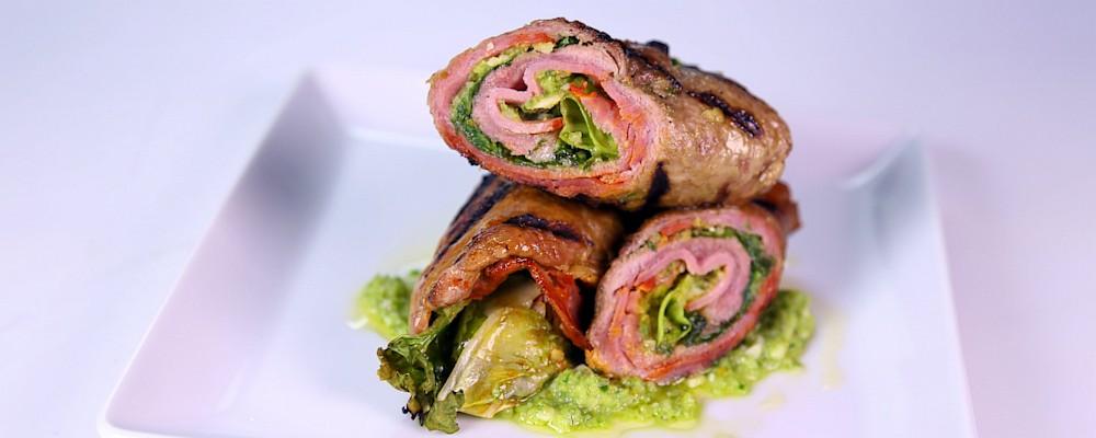 Jalapeno Pesto Braciole