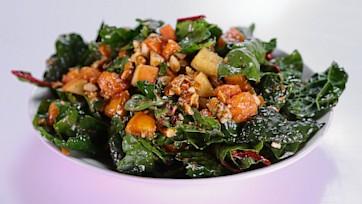 Archi\'s Acres Kale Hero Salad