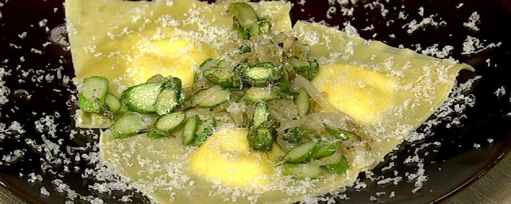 Asparagus and Ricotta Ravioli