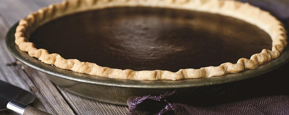 Chocolate Pumpkin Pie Recipe by Michael Symon - The Chew