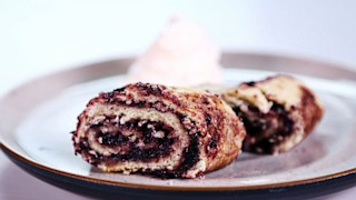 Carla Hall\'s Blackberry Roly Poly