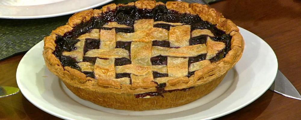 Carla Hall\'s Hundred Blueberry Pie